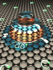 something odd on graphene