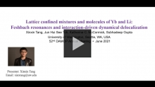 YouTube link to 2021 DAMOP Poster   Ultracold Atoms   Physics Research Presentation